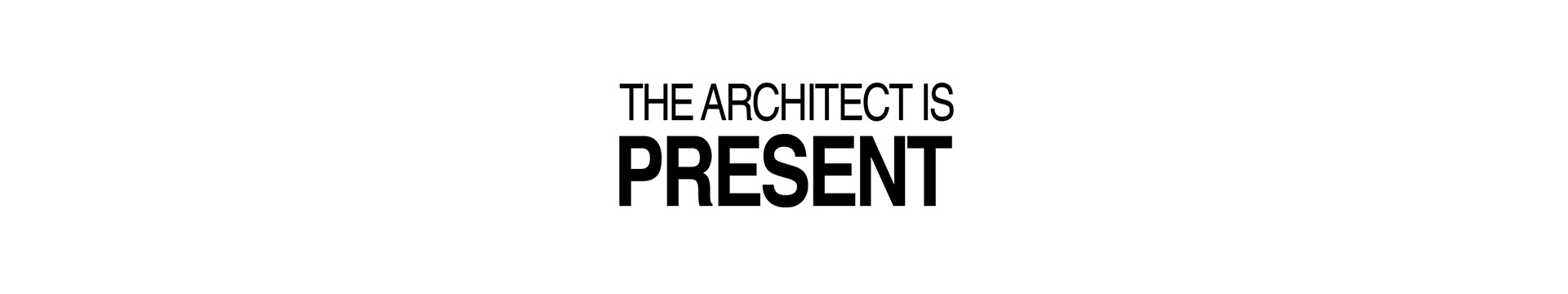 the-architecture-is-present